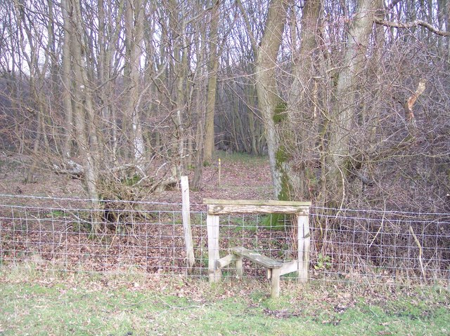Stile near Little Ruck Wood