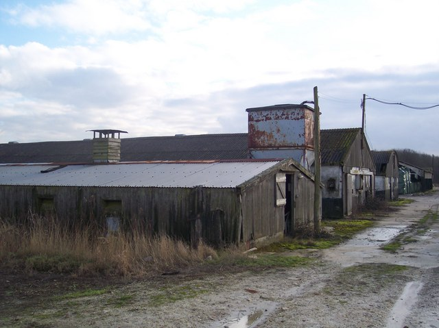 Unused farm buildings in Harlakenden Farm