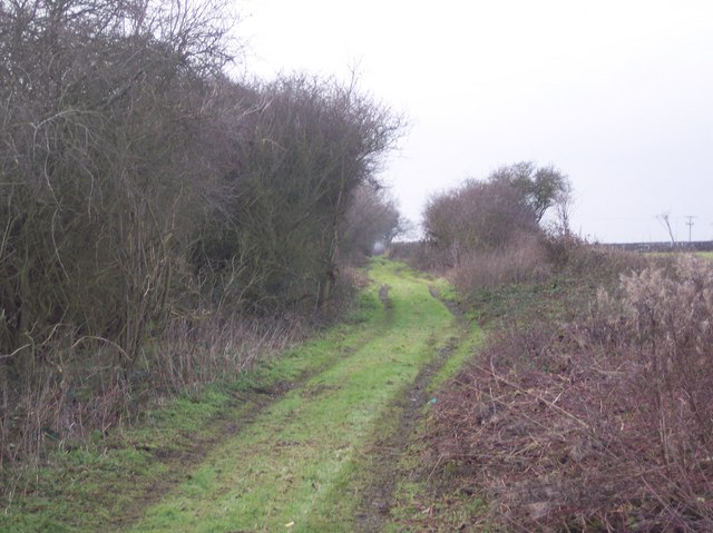 Byway to the A28 Ashford Road