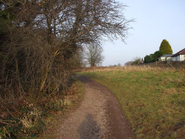 Footpath parallel to Rhydypenau Rd, Cardiff