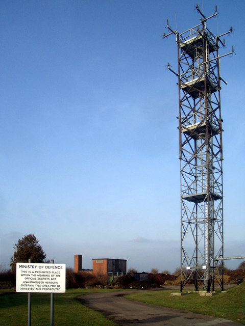 Radio Mast on Beggarsbush Hill