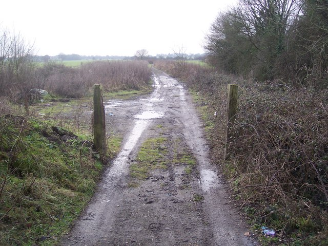 Start of the byway to Bethersden Road
