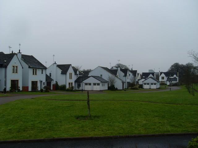 Houses in Castlehill Green