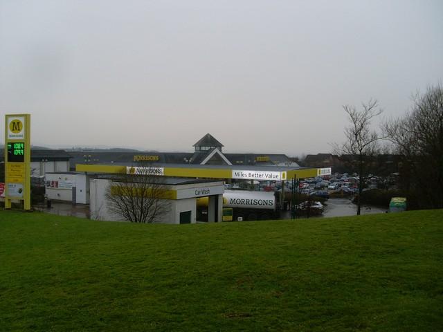 Morrisons petrol station, Stewartfield