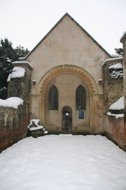 Snow in the Chancel