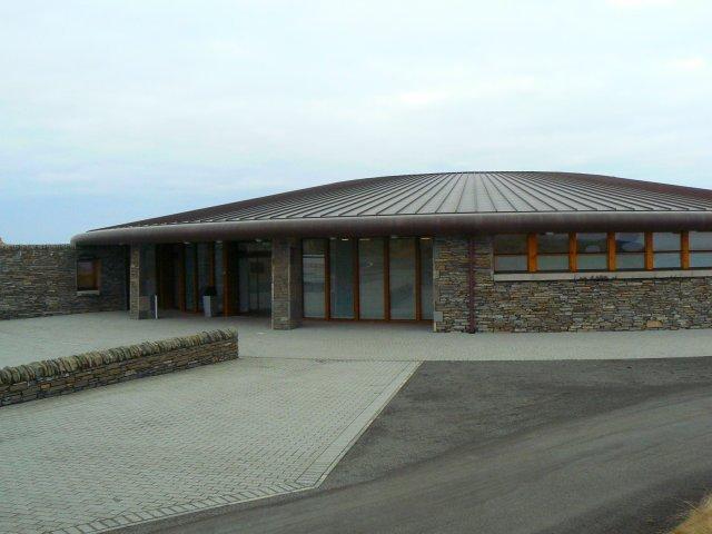 Castle Course clubhouse