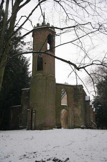 Empty tower on the Church