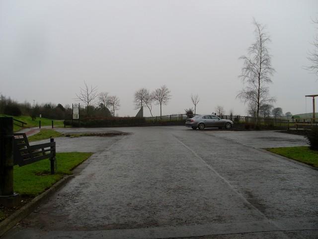 Car park at James Hamilton Memorial Park