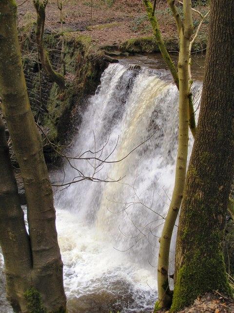 Naden Brook waterfall
