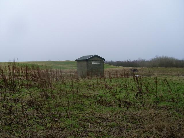 Small hut on Law Knowe