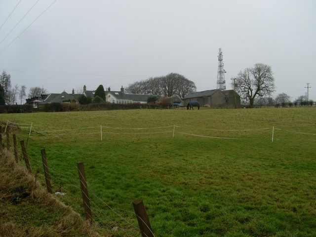 Farmland east of Rogerton