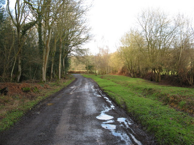 North westerly view to Jobson's Lane