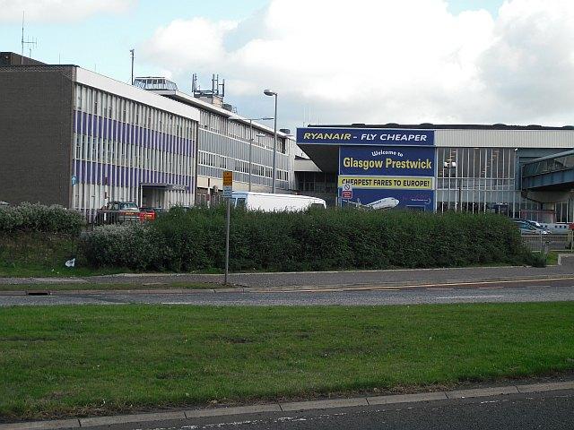 Terminal buildings, Prestwick Airport