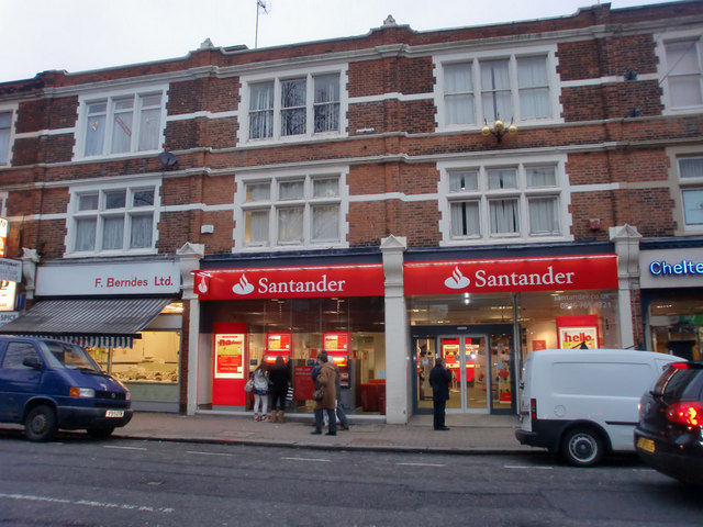 Santander, Church Street, Enfield