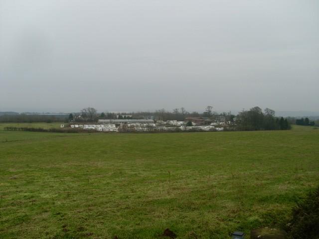 Caravans at Dykehead Farm