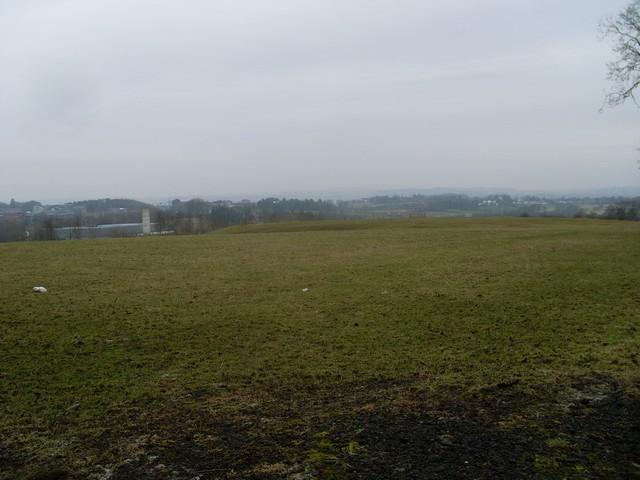 Farmland west of Kittochside