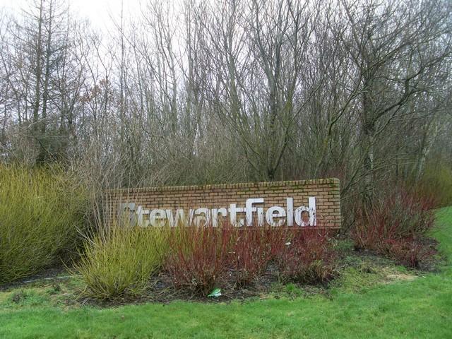 Entering Stewartfield