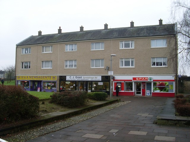 Shops on Murrayhill, East Kilbride