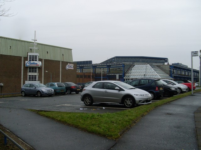 Car park at Caledonian Court, East Kilbride