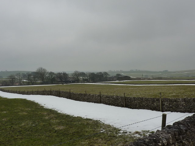 New Farm, from Pittlesmere Lane, near Tideswell