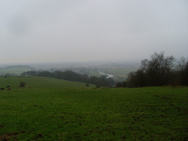 View back to Twechar from Bar Hill