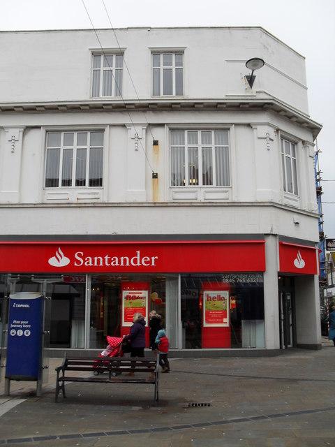 Santander in the High Street