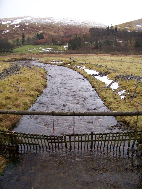 Chapelhope Burn - Downstream View