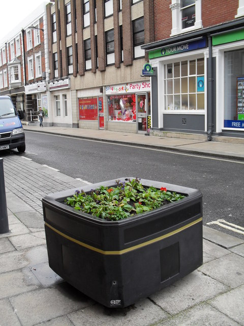 Flowerbed in York Road