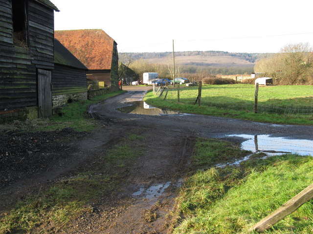 Outbuildings at Upper Diddlesfold Farm
