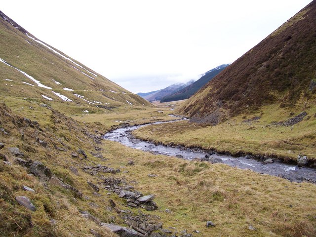 Upper Reaches Of The Moffat Water