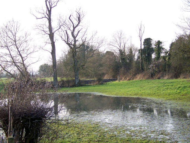 Flooded field, Bowerchalke