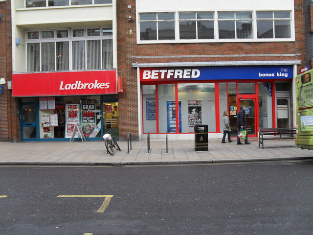 Bookies in the High Street