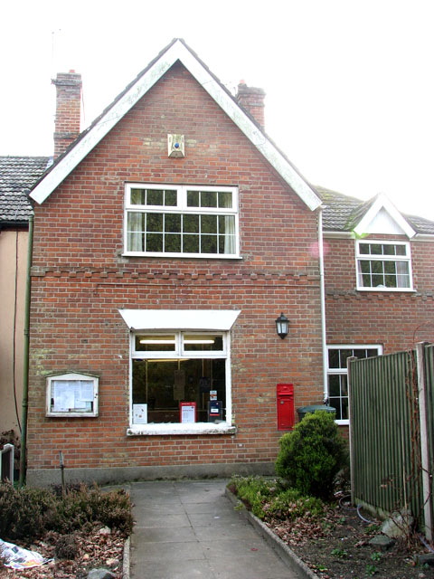 Fritton Post Office in Beccles Road