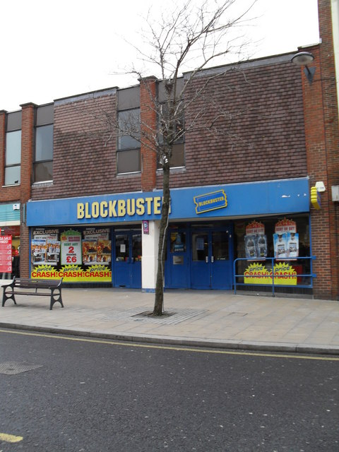 Blockbusters in the High Street