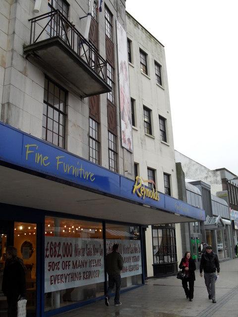 Reynolds Fine Furniture in the High Street