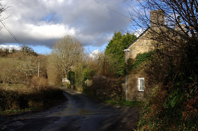 The Road by Orcheton Mill