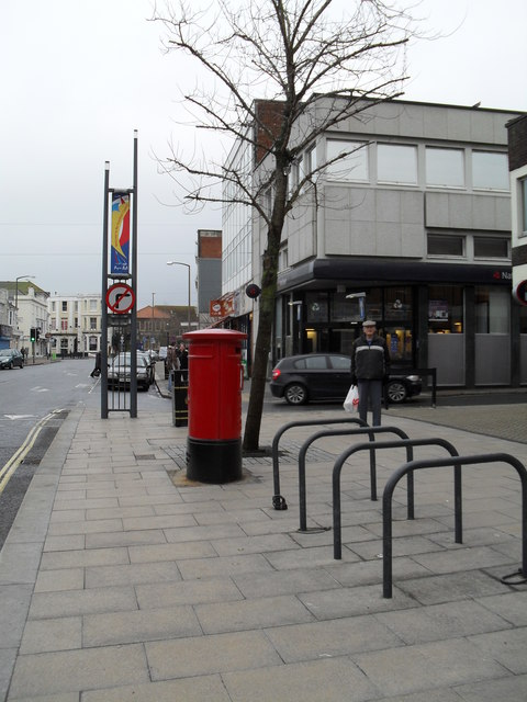 Postbox in the High Street