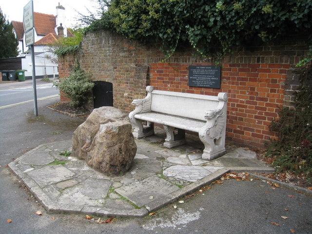 Bench & Tarry Stone, Cookham
