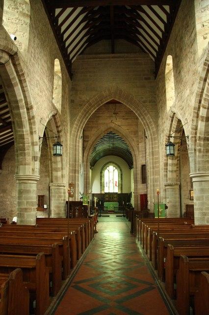 St.Bartholomew's nave