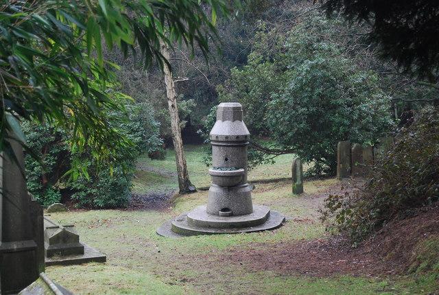 Fountain, Woodbury Park Cemetery