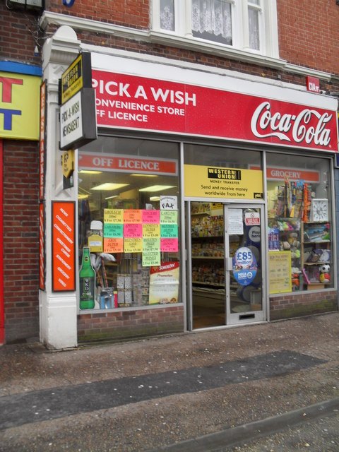 Newsagents in the High Street
