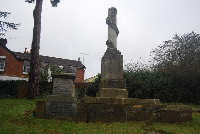 Jacob Bell's Tomb, Woodbury Park Cemetery