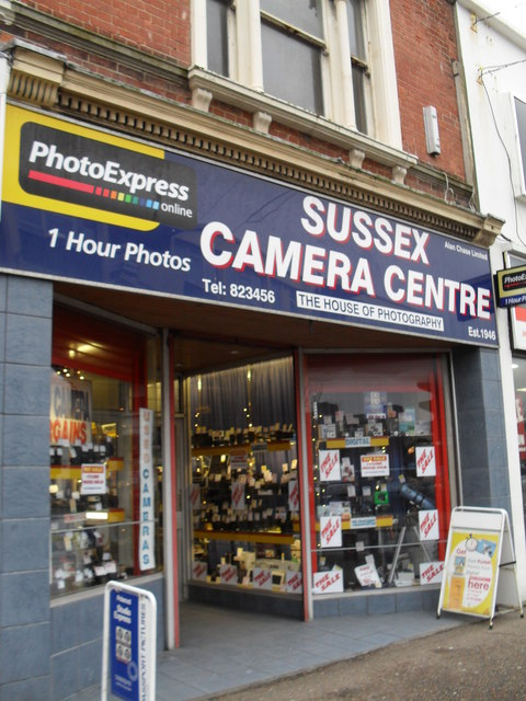 Sussex camera Centre in the High Street