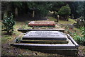 TQ5840 : Canon Edward Hoare's grave, Woodbury Park Cemetery by N Chadwick