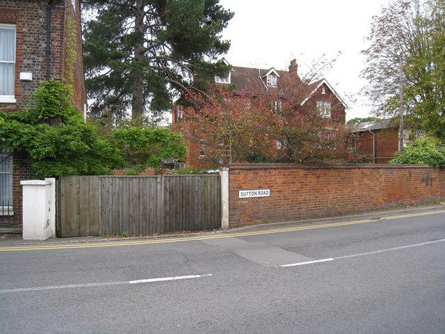 Sutton Road - Cookham