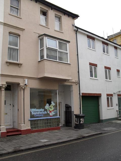 Sandwich bar in Lennox Street