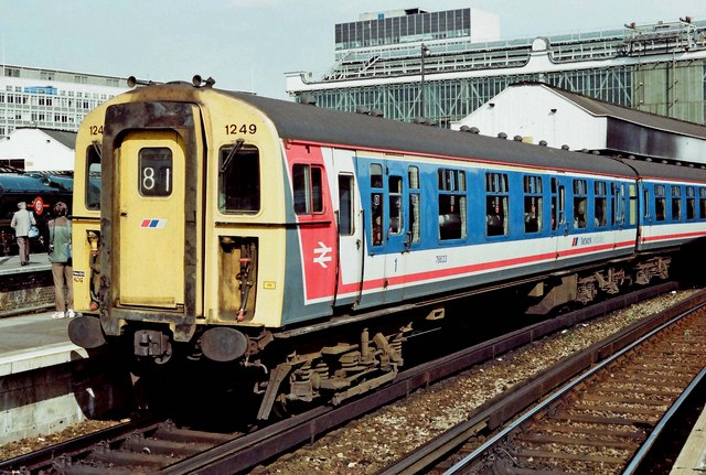 Network 150 Day - (07) Network SouthEast EMU Class 421/2 No. 1249