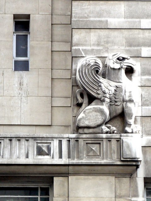 Griffin, Central Police Station & Magistrates Court, Market Street