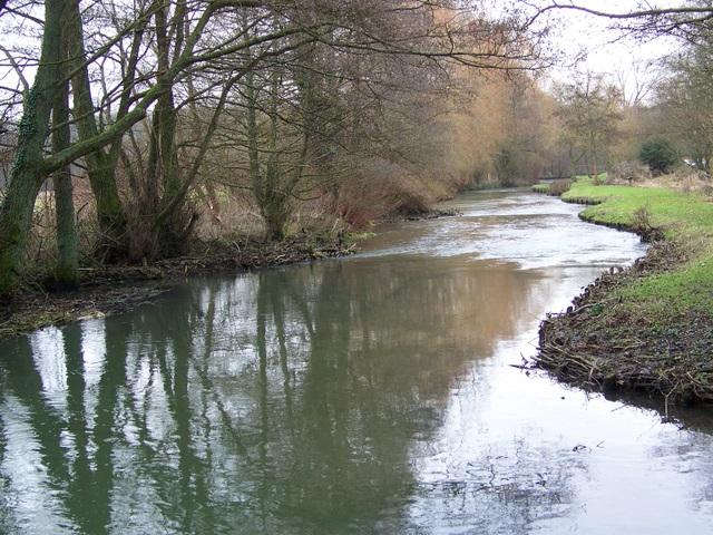 The River Dun, Lockerley