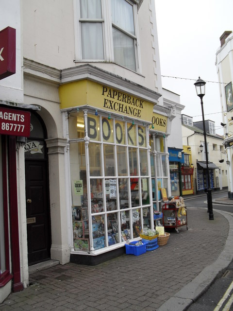 Paperback Exchange in the High Street